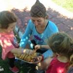 Les empanadas Mexicains, leur crêpes locales fourrées et frites