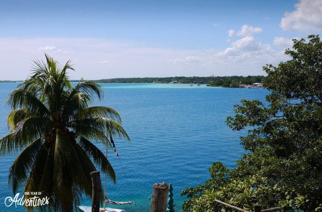 Le lagon de Bacalar