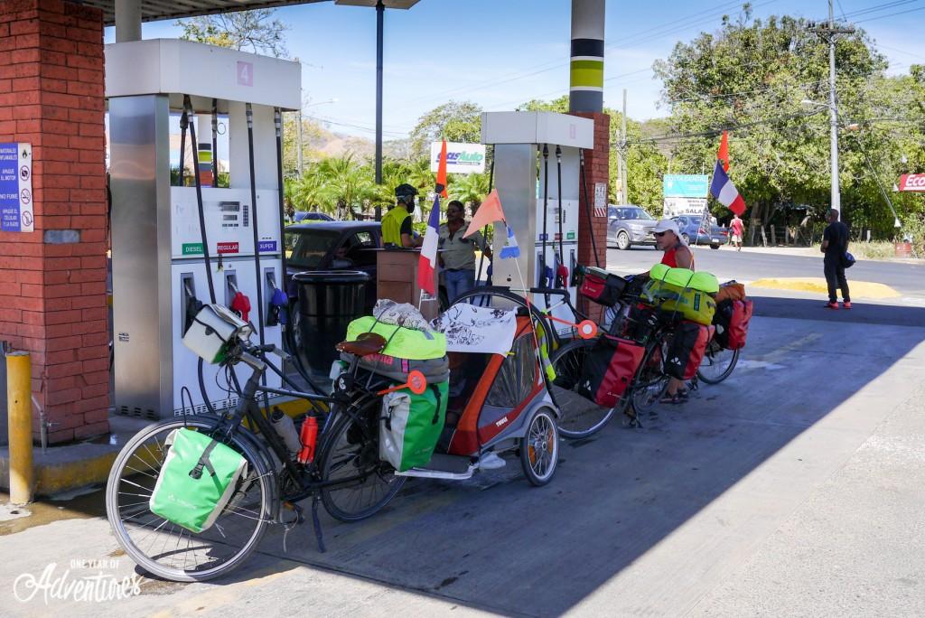 Quand les vélos passent à la pompe à essence