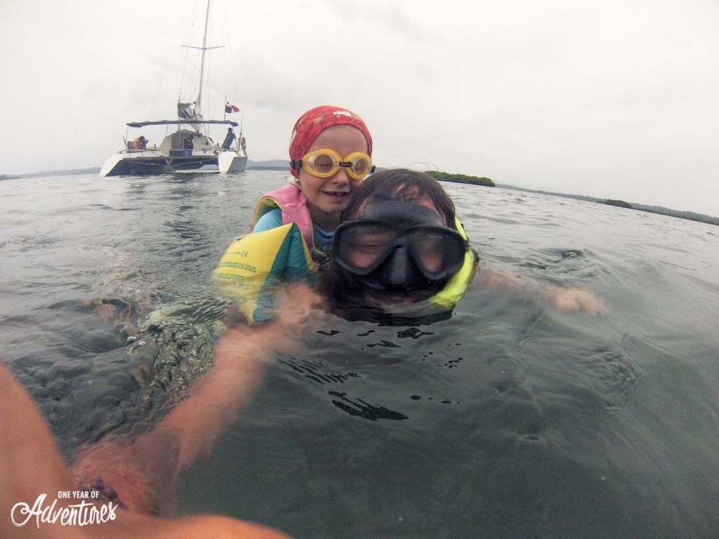 Première plongée pour Liv et Tess !