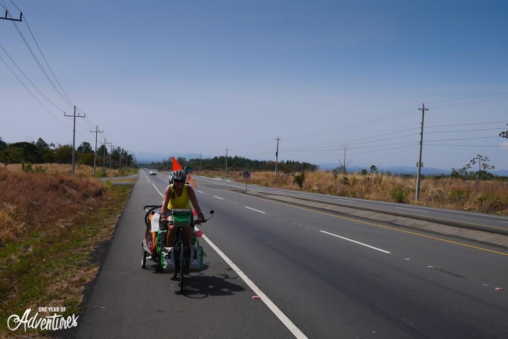 40km de montée pour atteindre Boquete
