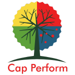cap perform logo