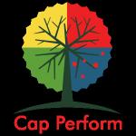 cap perform logo