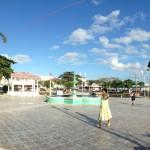 Le centre ville de Corozal