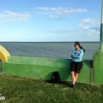 Le bord de mer de Corozal