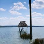 Lac Péten Itza pour une baignade bien méritée.