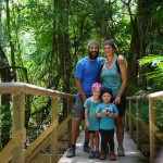 Excursion en famille, Parc Manuel Antonio