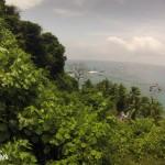 Vue de l'océan depuis l'île Cano