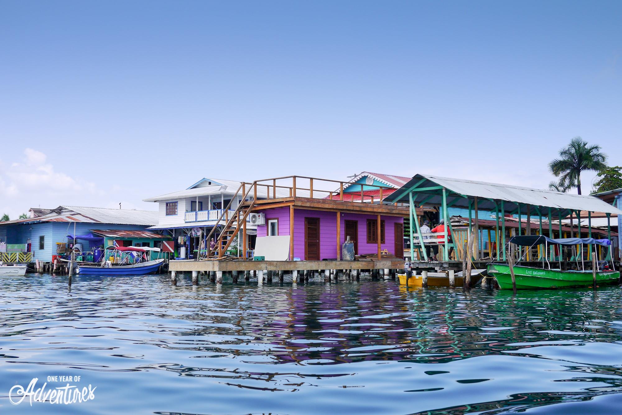 Arrivée à Bocas del Toro