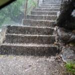 L'escalier devient une cascade
