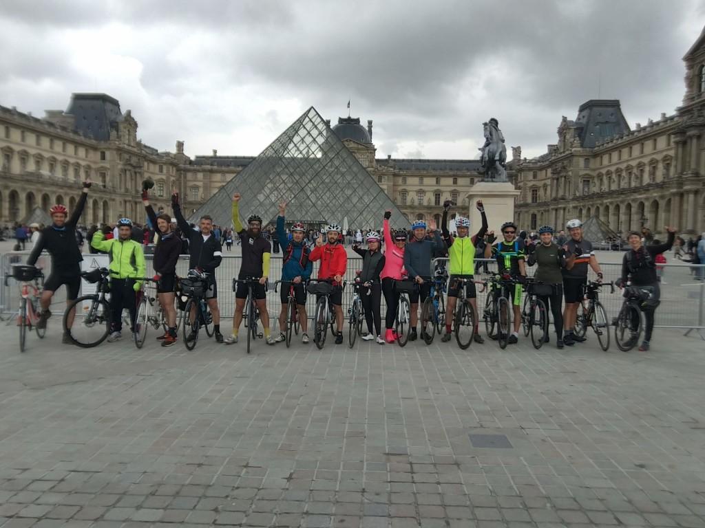 11H - Départ du Paris-Londres 2019